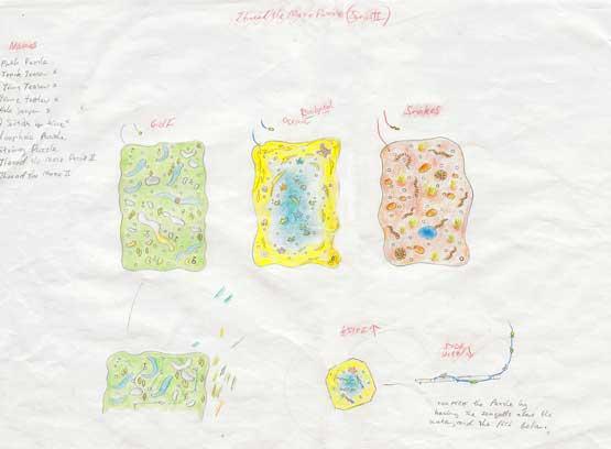 Thread the Maze prototype designs.