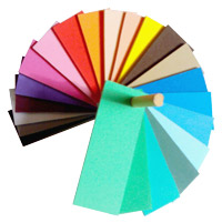Toy idea-foam colours